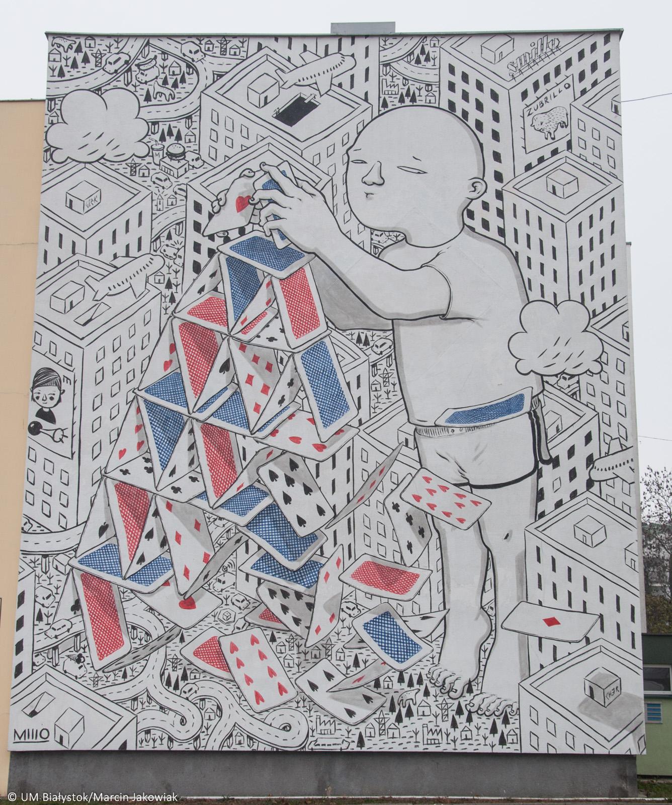 Czy najpi kniejsze murale s w bia ymstoku wschodz cy for Mural bialystok dziewczynka z konewka