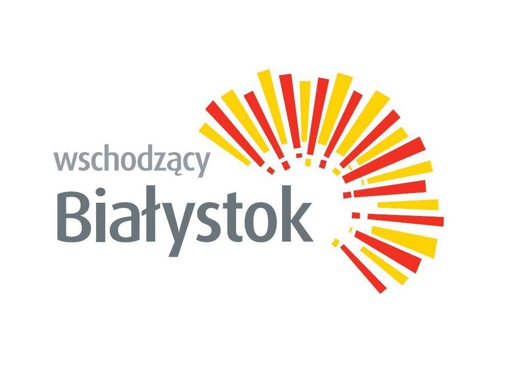 Znalezione obrazy dla zapytania logo wschodzący BIałystok