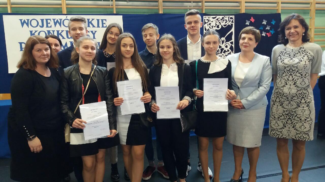Podsumowanie Wojewódzkich Konkursów Przedmiotowych gimnazjów